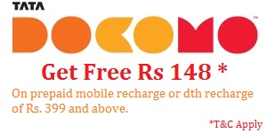 Docomo Recharge Offer