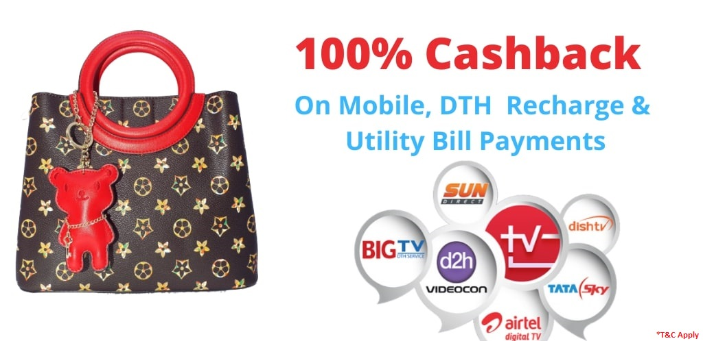 Recharge1 100% Cash Back