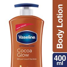 Vaseline Intensive Care Cocoa Glow Body Lotion 400 ml