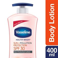 Vaseline Healthy Bright SunPollution Protection SPF 30 Pa Body Lotion 400 ml