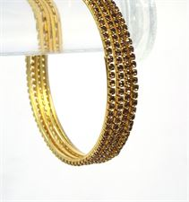 Silver and Gold Color Bangles for Women to wear in Wedding, Casual  Festive Ocassions