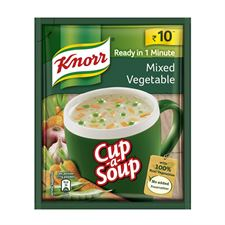 Knorr Instant Mixed Vegetable Cup A Soup 10 g