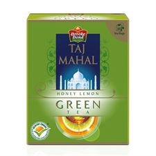 Taj Mahal Honey Lemon Green Tea  10 Tea Bags