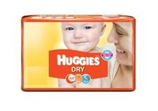Huggies New Dry Large Size Diapers 5 NOS RLHUL00370