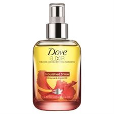 Dove Elixir Nourished Shine Hibiscus and Argan Hair Oil 90ml