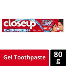 Closeup Everfresh Anti-Germ Gel Toothpaste Red Hot 80 g