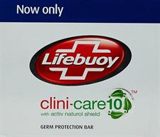Lifebuoy Clini Care 10 Complete Soap Bar 3 x 125g