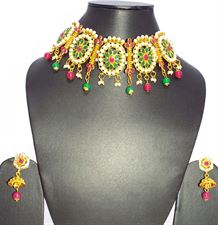 Designer Ladies Necklace Set for Wedding  Bridal