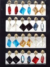 4 Sets of Casual Studs Earrings
