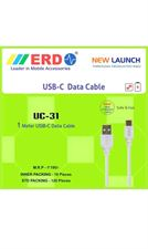ERD Type-C Cable for Data Transfer and Fast Charging for All Android Smartphones