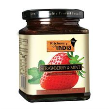 Itc Master Chef Conseves  Chutneys - Strawberry  Mint 320G Spread