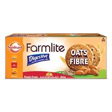 Sunfeast Biscuits Farmlite Oats and Almonds 75g