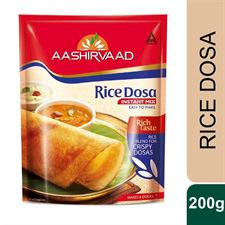 Aashirvaad Instant Mix - Rice Dosa200G