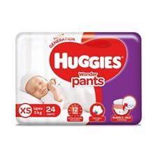 Huggies Wonder Pants Extra Small (XS) Size Diapers 24 Count