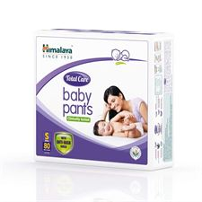 Himalaya Total Care Baby Pants Diapers Small 80 Count