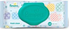 Pamper Fresh Clean Baby Wipes -Combo Pack of 5 Pieces (168 x 144 mm Green)