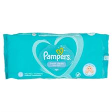 Pampers Fresh Clean Baby Scent Baby Wipes 52s (White)
