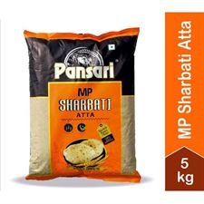 Pansari MP Sharbati Atta - 5 Kg