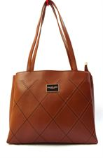 Brown Color Leather Stylish Ladies Handbag for casual and 9 to 5 Collection