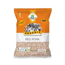 Organic RED POHA (FLATTENED RICE)   500 GMS