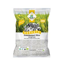 Organic SONAMASURI RAW RICE POLISHED 1 KG