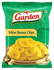 GARDEN YELLOW BANANA CHIPS 90GM