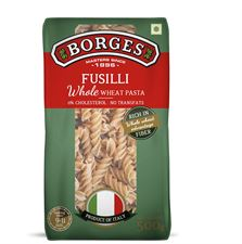 Borges Fusilli Pasta - Whole Wheat