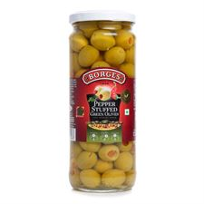 Borges Pepper Stuffed Olives