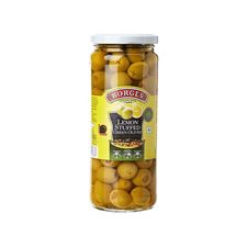 Borges Lemon stuffed olives