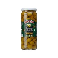 Borges Jalapeno stuffed Olives
