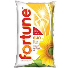 Fortune Sun Flower Oil 1lt Pouch